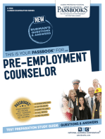 Pre-Employment Counselor