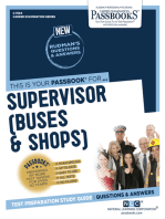 Supervisor (Buses and Shops)