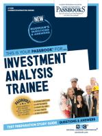 Investment Analysis Trainee
