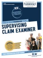 Supervising Claim Examiner