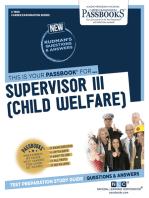 Supervisor III (Child Welfare)