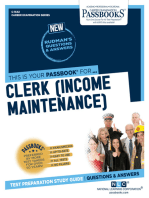 Clerk (Income Maintenance)