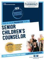 Senior Children's Counselor