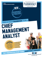 Chief Management Analyst