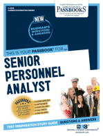 Senior Personnel Analyst