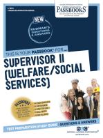 Supervisor II (Welfare/Social Services)