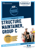 Structure Maintainer, Group C (Iron Work)