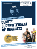 Deputy Superintendent of Highways