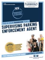 Supervising Parking Enforcement Agent