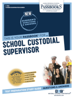 School Custodial Supervisor