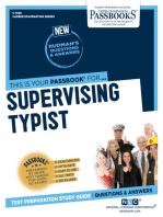 Supervising Typist