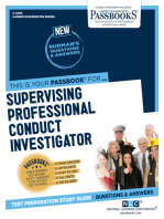 Supervising Professional Conduct Investigator