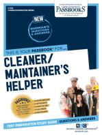 Cleaner/Maintainer's Helper