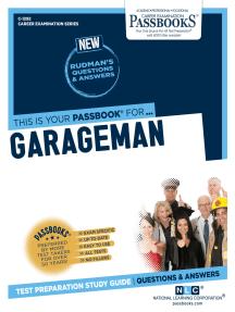 Garageman: Passbooks Study Guide