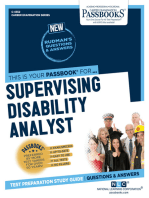 Supervising Disability Analyst (IV, V)