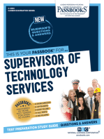 Supervisor of Technology Services