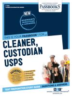 Cleaner, Custodian (USPS)