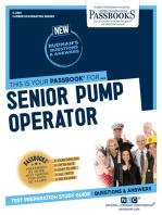 Senior Pump Operator