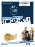 Storekeeper I