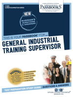 General Industrial Training Supervisor