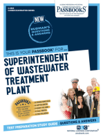 Superintendent of Wastewater Treatment Plant