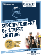 Superintendent of Street Lighting