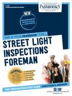 Street Light Inspections Foreman