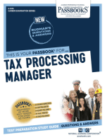 Tax Processing Manager
