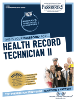 Health Record Technician II
