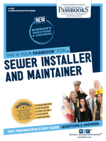 Sewer Installer and Maintainer
