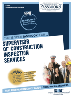 Supervisor of Construction Inspection Services