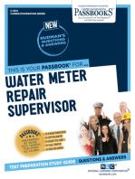 Water Meter Repair Supervisor