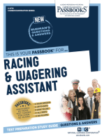 Racing & Wagering Assistant
