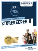 Storekeeper II