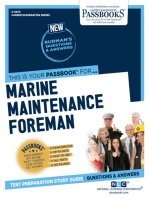Marine Maintenance Foreman