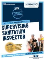 Supervising Sanitation Inspector