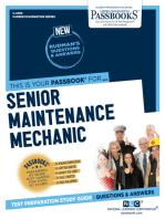 Senior Maintenance Mechanic