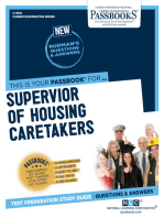 Supervisor of Housing Caretakers
