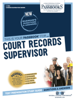 Court Records Supervisor