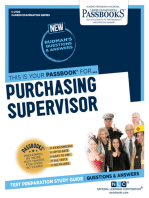 Purchasing Supervisor
