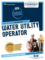 Water Utility Operator