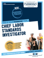 Chief Labor Standards Investigator