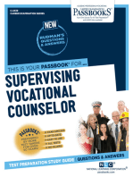 Supervising Vocational Counselor