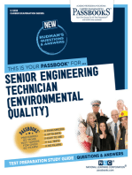 Senior Engineering Technician (Environmental Quality)