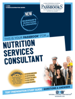 Nutrition Services Consultant