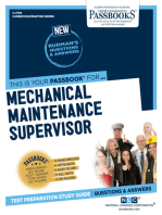 Mechanical Maintenance Supervisor