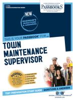 Town Maintenance Supervisor
