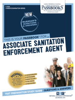 Associate Sanitation Enforcement Agent