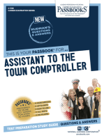 Assistant to the Town Comptroller