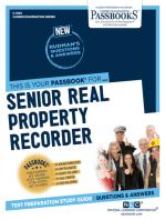 Senior Real Property Recorder
